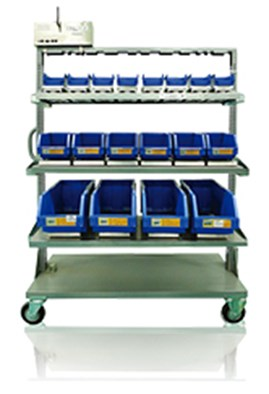 Wireless Mobile Cart Inventory Management