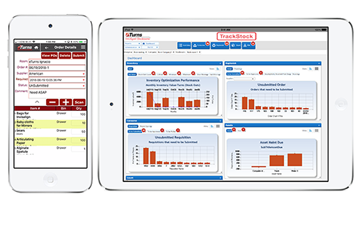 VMI / CMI Inventory Management Software eTurns TrackStock